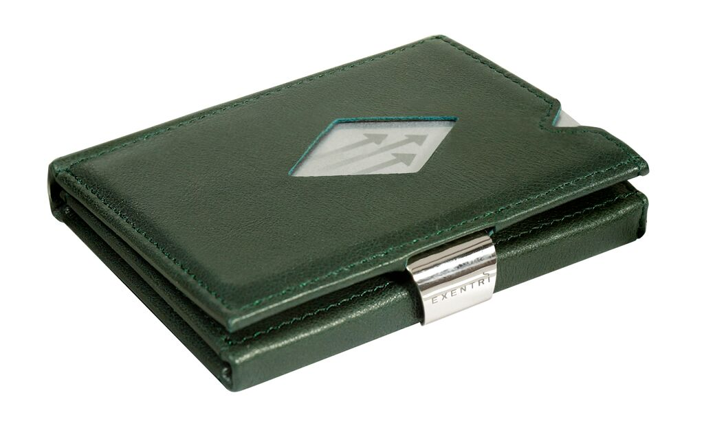 a98226ec8a Exentri Wallet Green met lederen sleutelhoes no RFID