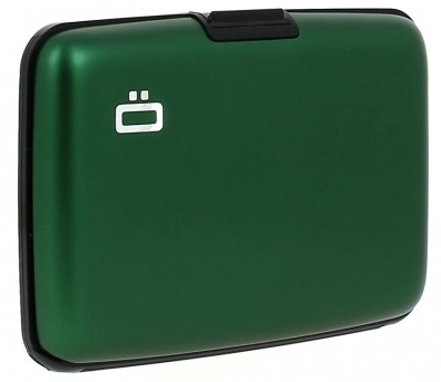 Ögon Card Case Groen