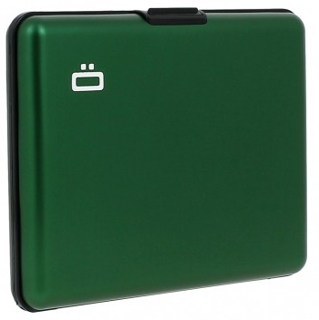 Ögon Card Case Large Groen