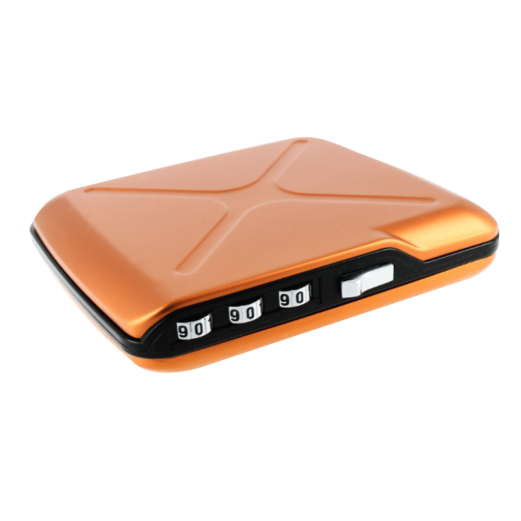 Ögon CODE Wallet Mini Safe Oranje